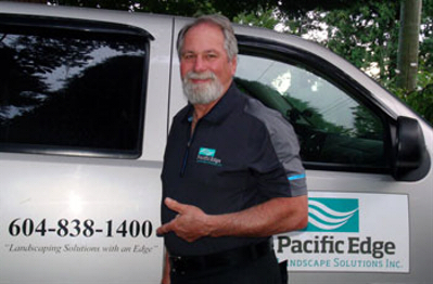 Don Regeling - Line Painting, Landscape Curbing, Curb Repairs - Pacific Edge Landscape Solutions Inc. Surrey BC